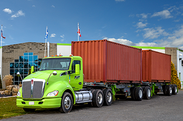 SGT   Drybox, flat bed trailer & container