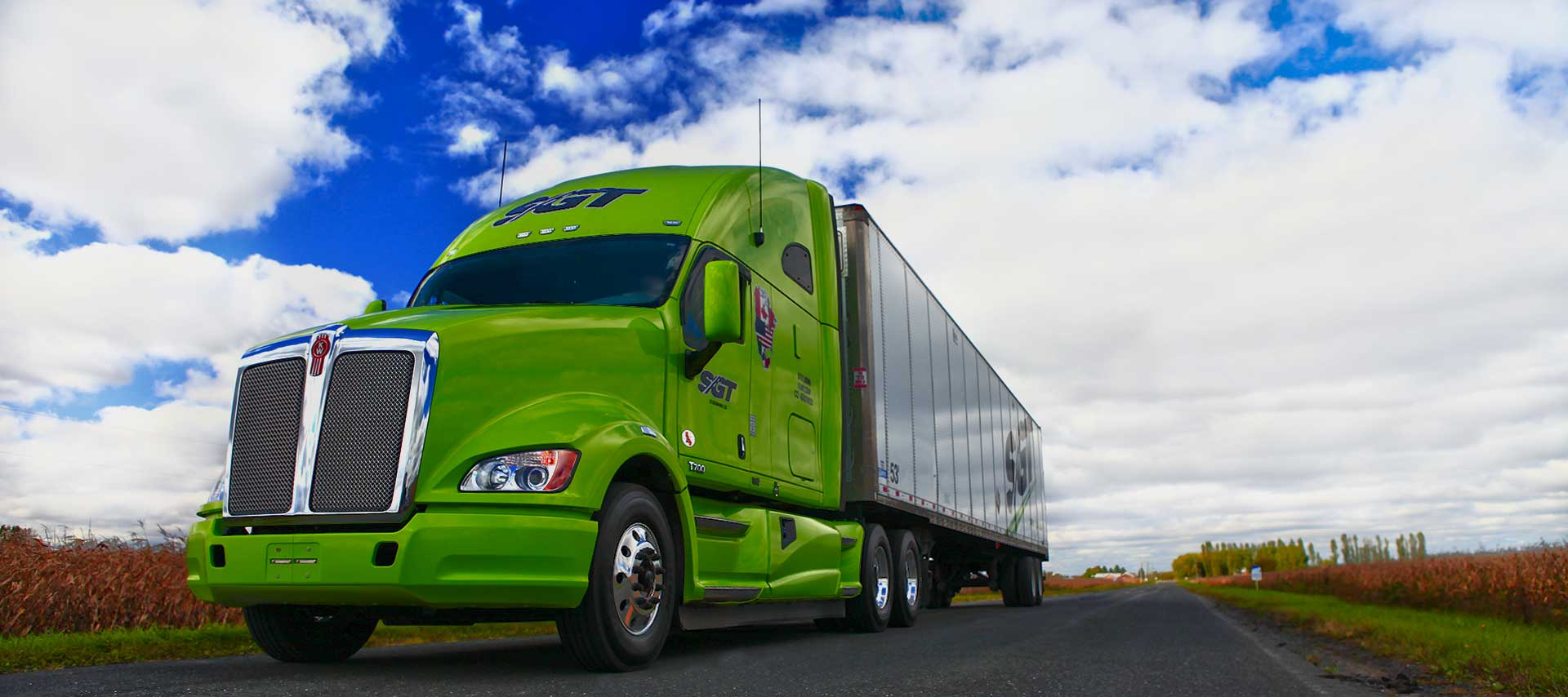 SGT, trucking transportation, logistic and warehousing